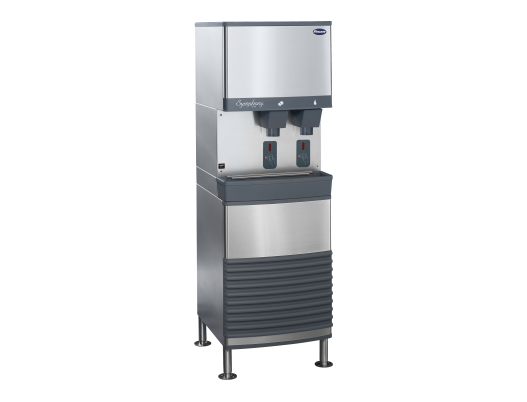 Symphony Plus 25 and 50 Series freestanding ice and water dispenser